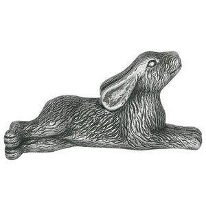 Silver Garden Laying Hare