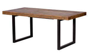 Quayside Reclaimed Furniture Large Extending Dining Table