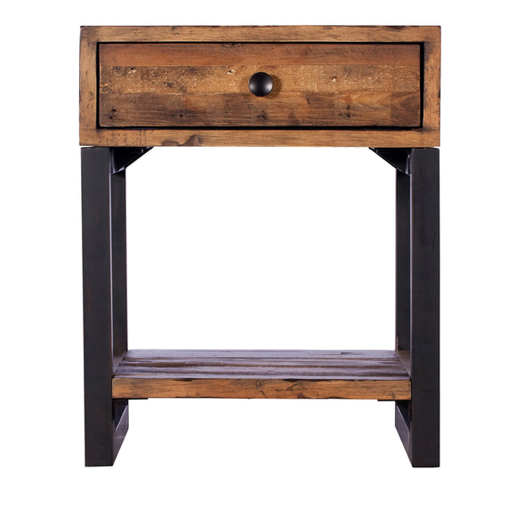 Quayside Reclaimed Furniture Lamp Table