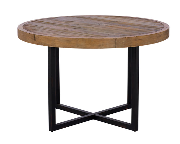 Quayside Reclaimed Furniture 120cm Round Dining Table
