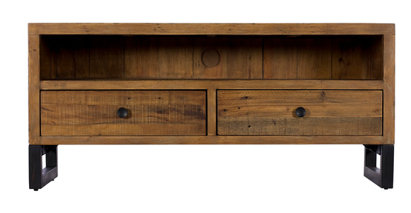 Quayside Reclaimed Furniture Small TV Unit