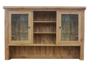 Bergerac Solid Oak 3 Door Dresser Top