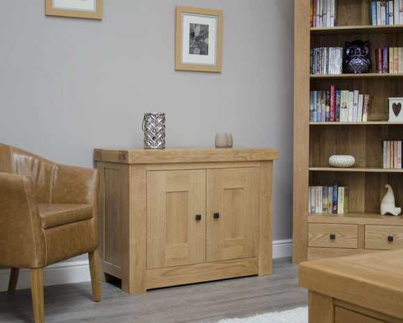 Lyon Solid Oak Occasional Cupboard