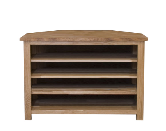 Midhurst Oak Corner TV Unit