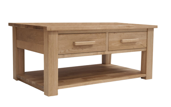 Midhurst Oak Coffee Table with Drawers