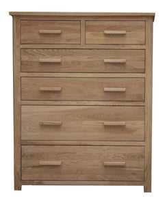 Midhurst Oak Jumbo Chest of Drawers