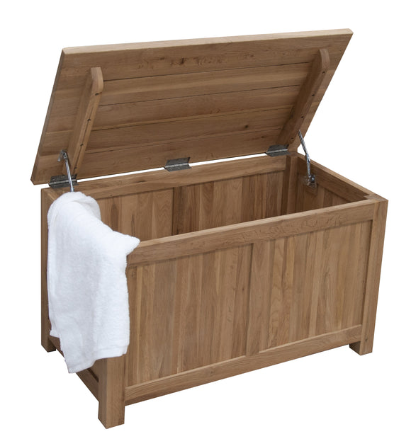 Midhurst Oak Blanket Box