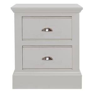New Hampshire 2 Drawer Bedside