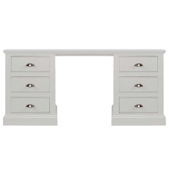 New Hampshire Double Pedestal Dressing Table