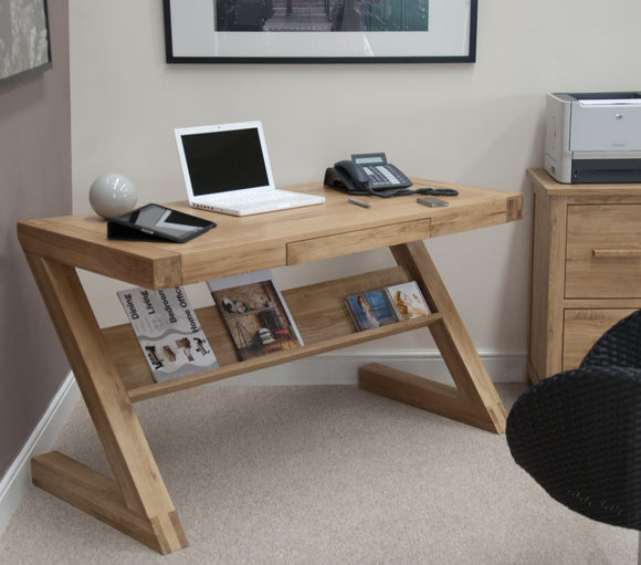Midhurst Oak Z Style Office Desk