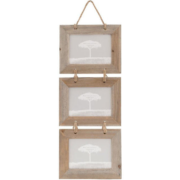 Driftwood Triple Hanging Frames - What Nots Online