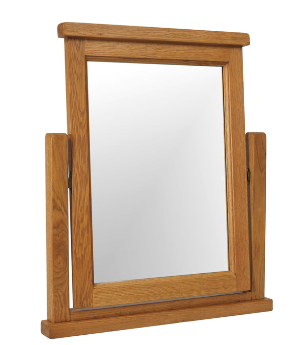 Salcombe Oak Single Mirror