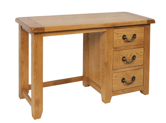 Salcombe Oak Dressing Table and Stool Set