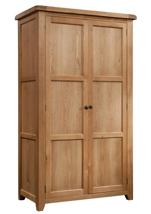 Salcombe Oak Full Hanging Wardrobe
