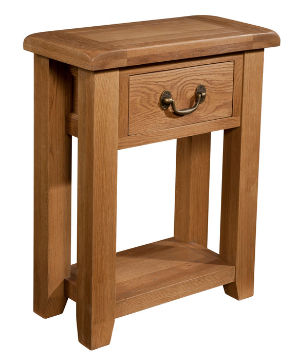 Salcombe Oak Small Console Table