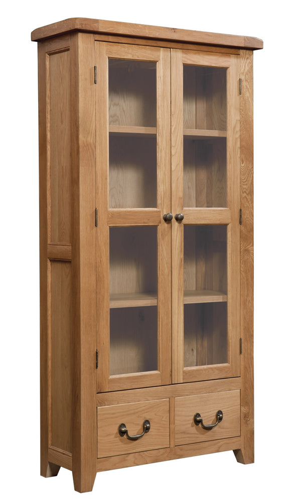 Salcombe Oak Display Cabinet