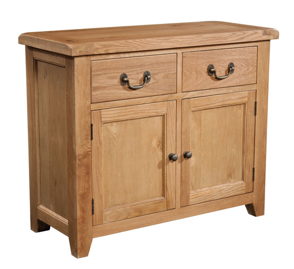 Salcombe Oak 2 Door 2 Drawer Sideboard