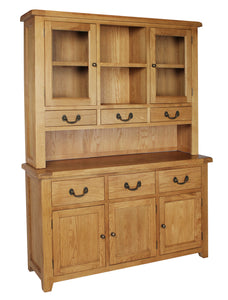 Salcombe Oak Large Dresser Complete