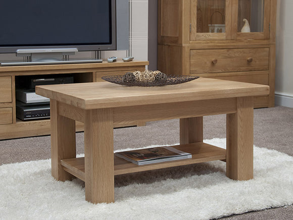 Fernhurst Oak Rectangular Coffee Table