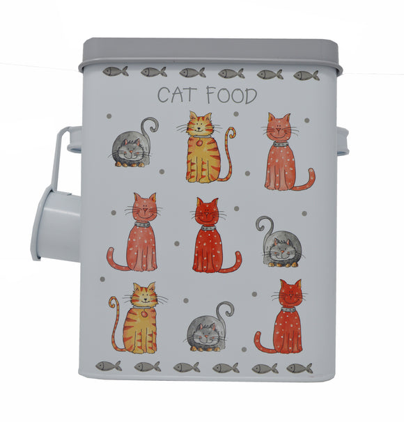 Cat Food Tin with Scoop