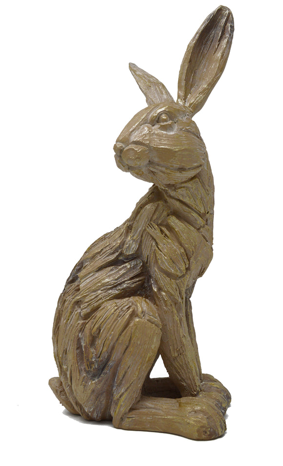 Driftwood Sitting Hare
