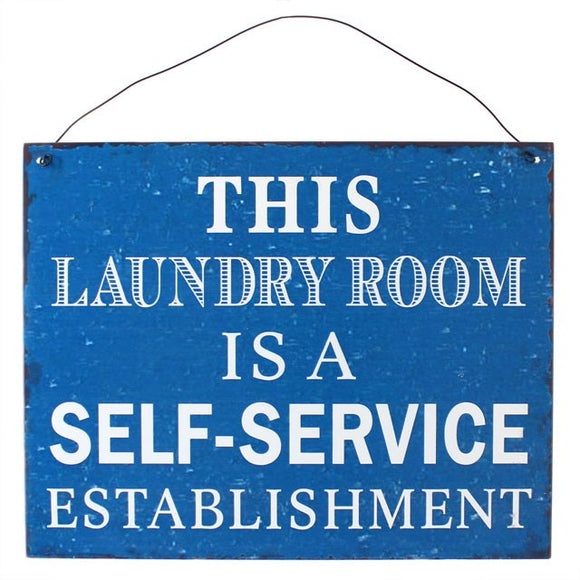 Laundry Metal Sign - What Nots Online