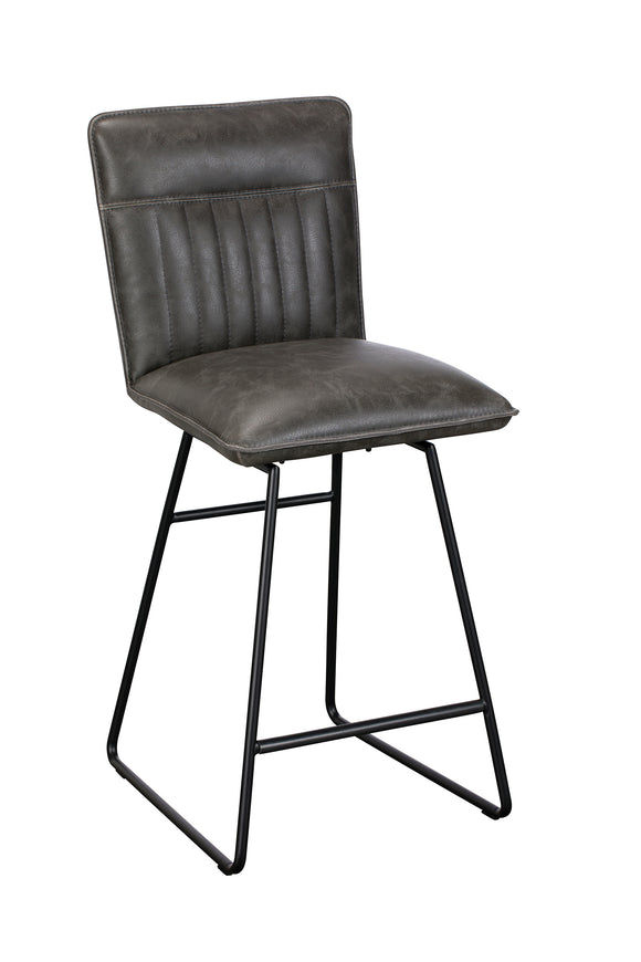 Avenger Swivel Bar Stool Grey