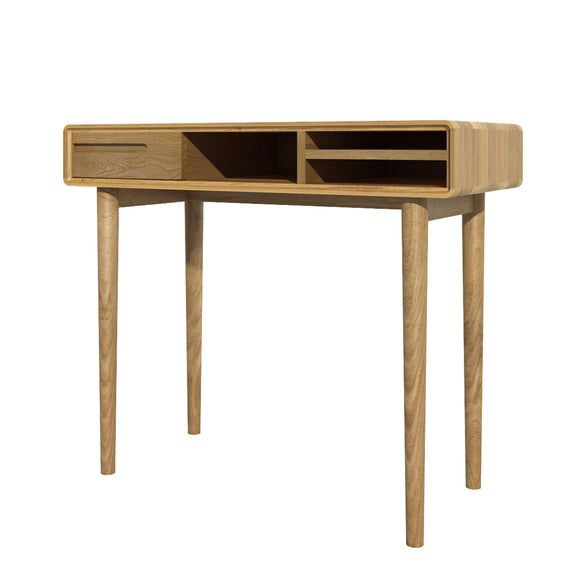 Copenhagen Oak Small Computer Desk