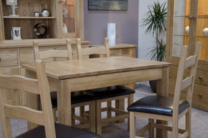 Midhurst Oak Solid Oak Small Extending Table