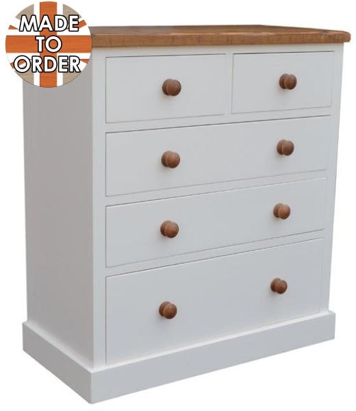 Sherwood Rustic Pine 2 Over 3 Chest of Drawers