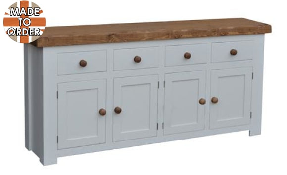 Sherwood Rustic Pine Butchers Block Sideboard 6ft