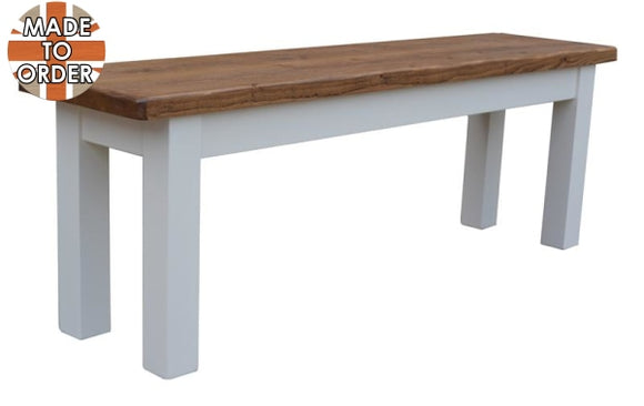 Sherwood Rustic Pine Dining Bench 3ft
