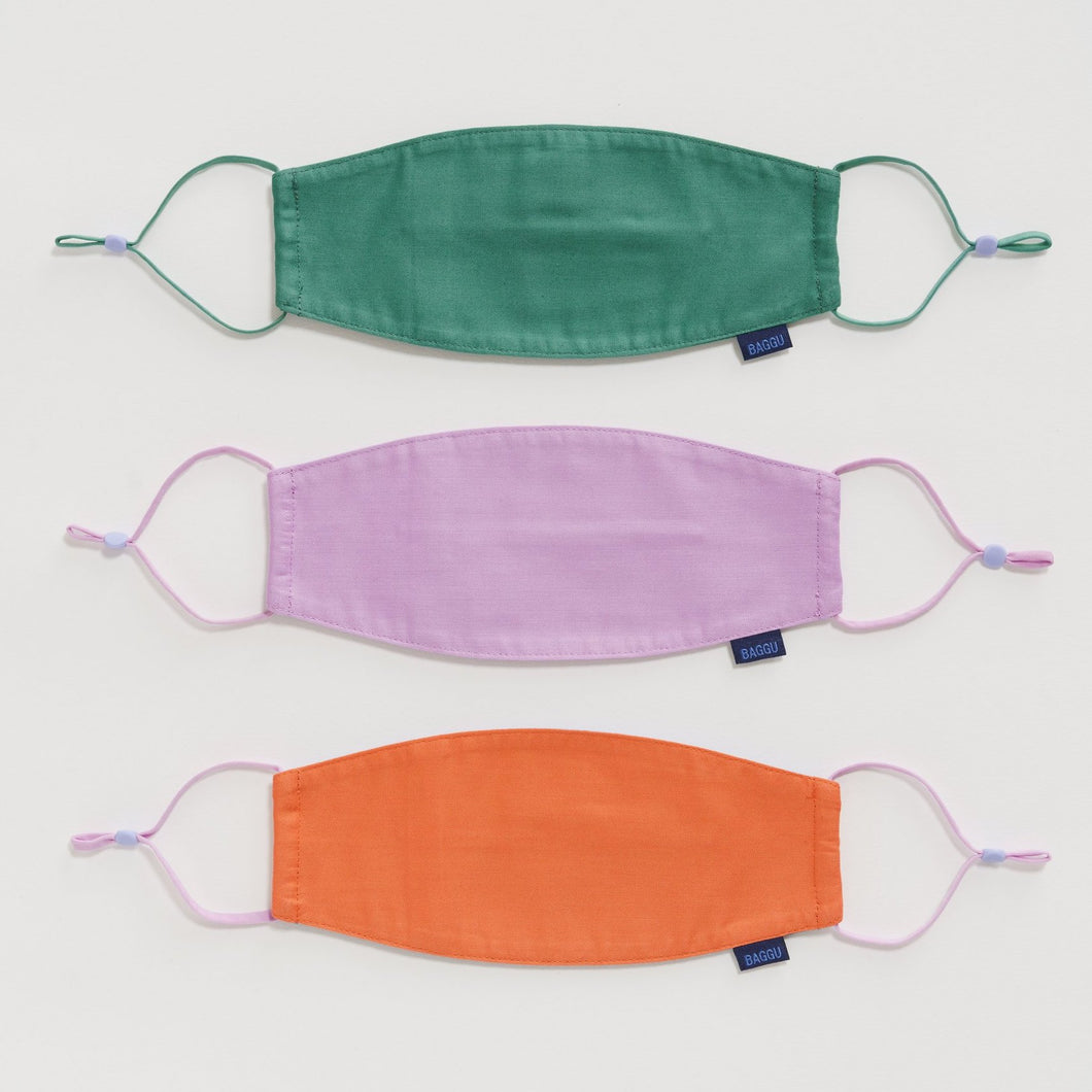 BAGGU Fabric Mask Set Loop - Cactus - MAIDO! Kairashi Shop
