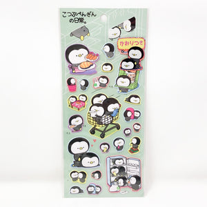 MIND WAVE Puffy Stickers Tiny Penguin in Daily Life - MAIDO! Kairashi Shop