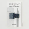 HIGHTIDE Slide Clip Pen Holder / Black