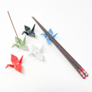Nippon Kodo Crane Incense Holder - MAIDO! Kairashi Shop