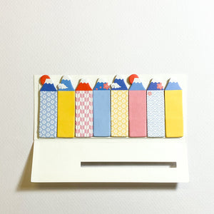 MIND WAVE Sticky Notes Mt. Fuji - MAIDO! Kairashi Shop