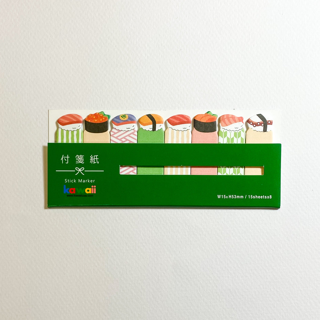 MIND WAVE Sticky Notes Sushi - MAIDO! Kairashi Shop