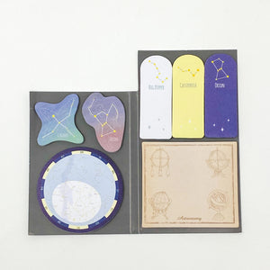 Green Flash Sticky Book Astronomy - MAIDO! Kairashi Shop