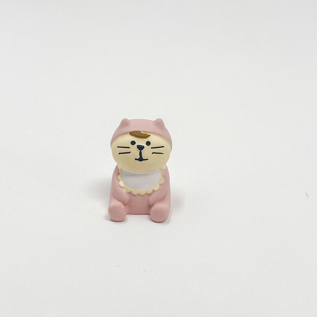 concombre Figurine Blue Baby Cat Pink - MAIDO! Kairashi Shop