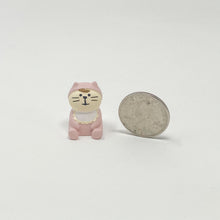 Load image into Gallery viewer, concombre Figurine Blue Baby Cat Pink - MAIDO! Kairashi Shop