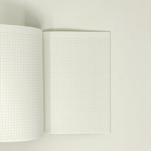 KOKUYO Campus Notebook 5 mm Grid A5 40 Sheet Black - MAIDO! Kairashi Shop