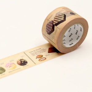 mt fab 30 mm chocolate washi tape - MAIDO! Kairashi Shop