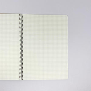 MARUMAN Spiral Notebook Basic B5 GRID 5.0 mm 40 Sheets - MAIDO! Kairashi Shop