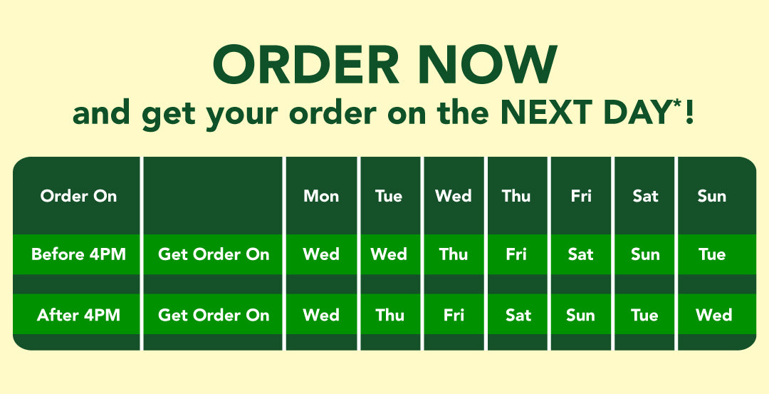 Meatfactory | Delivery Schedule
