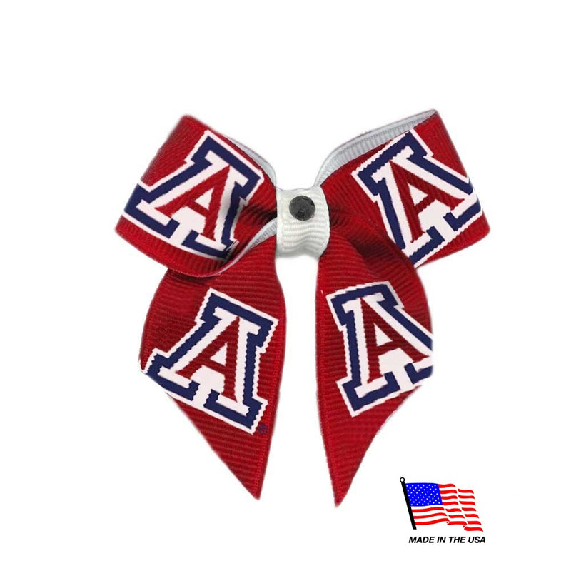 Arizona Wildcats Pet Hair Bow - National Fur League