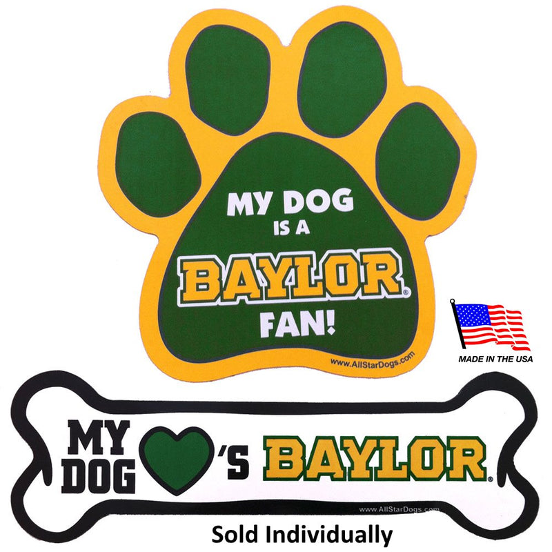 Baylor Bears Car Magnets - National Fur League