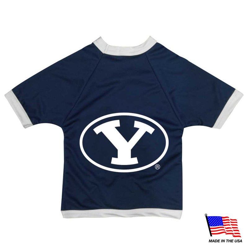 Brigham Young Cougars Athletic Mesh Pet Jersey - National Fur League