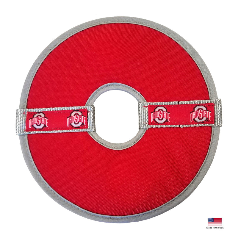 Ohio State Buckeyes Flying Disc Toy - National Fur League