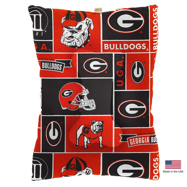 Georgia Bulldogs Pet Slumber Bed - National Fur League